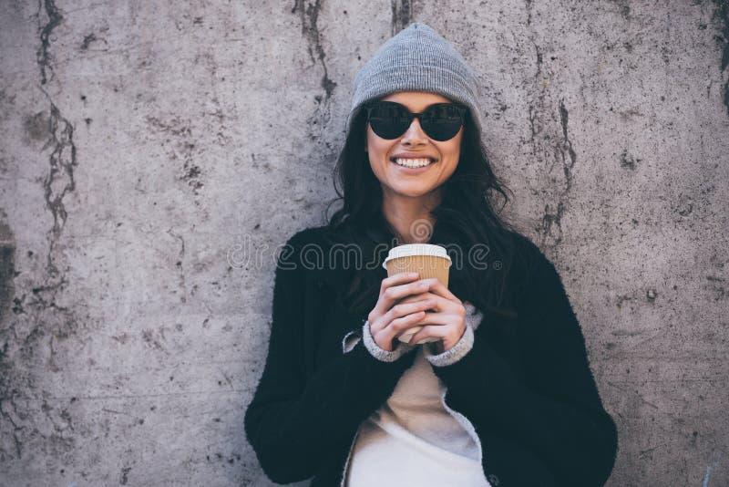 Ihr Lächeln kann Ihr Herz schmelzen stockbild
