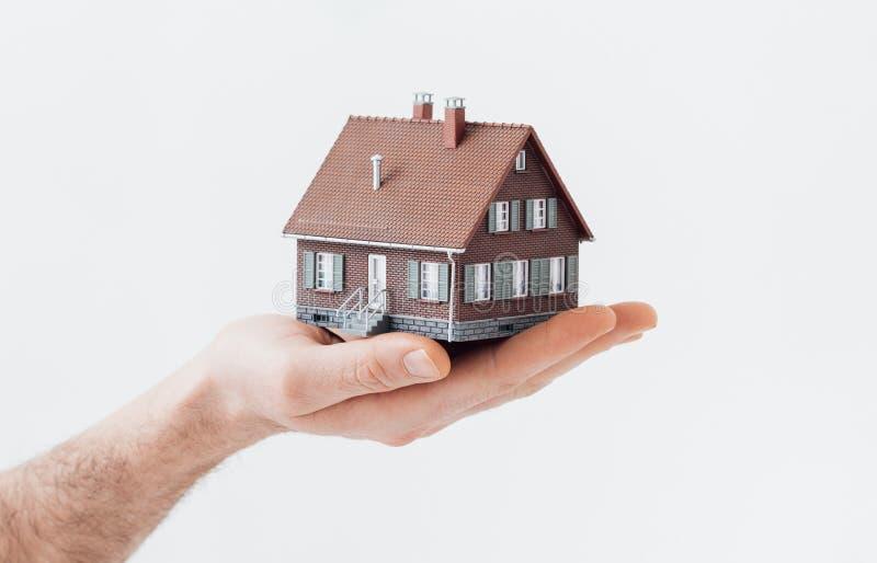 Ihr neues Haus stockbilder