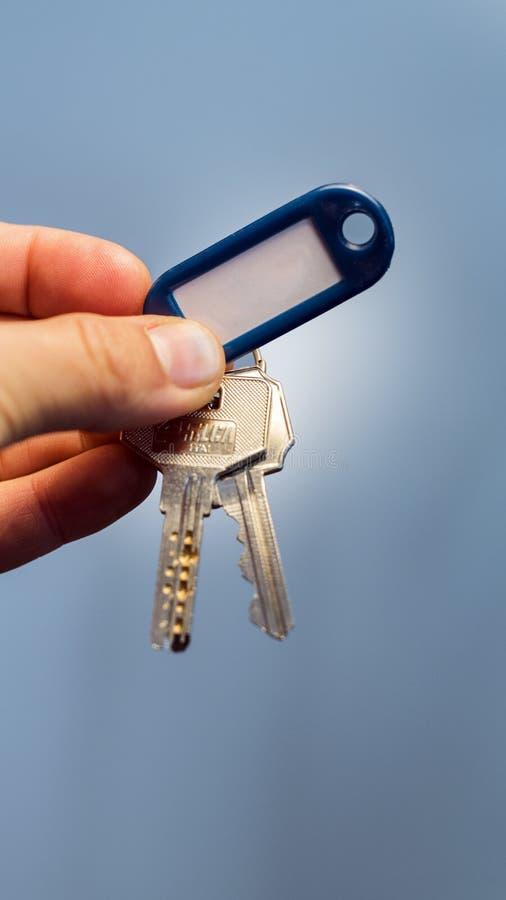 Ihre Hausschlüssel lizenzfreies stockbild
