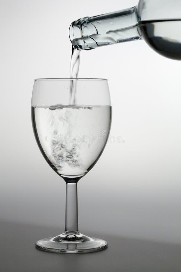 ii倾吐的水 免版税库存图片