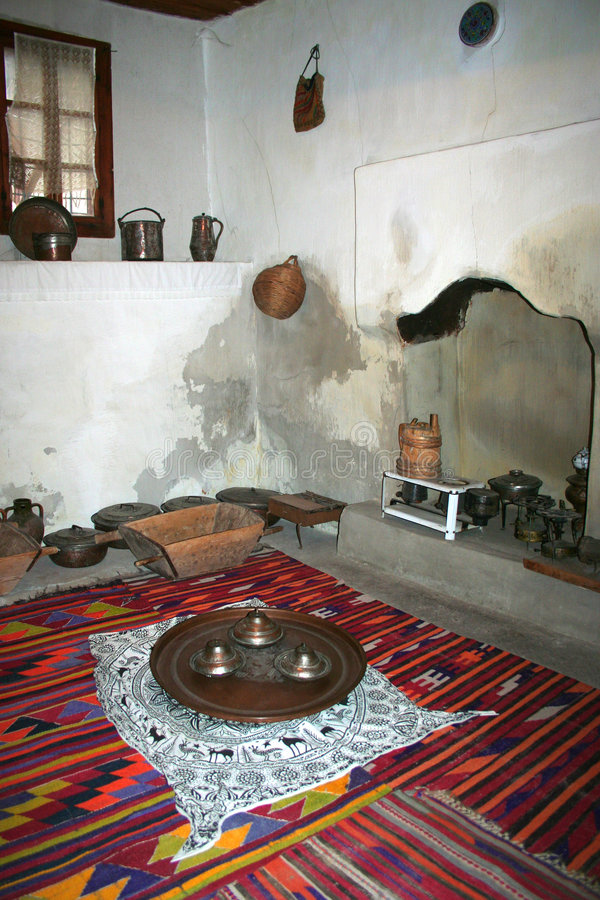 ii厨房传统土耳其 库存图片