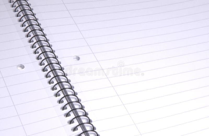 ii被排行的纸张 免版税库存图片