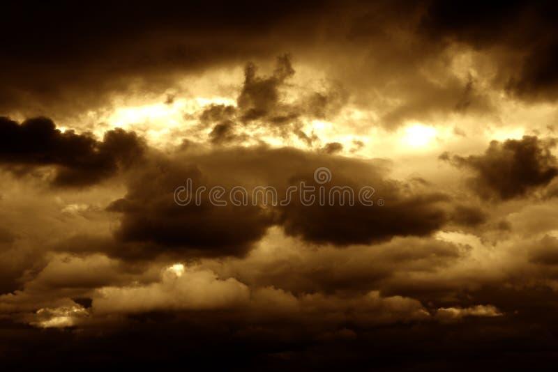 ii życia serii niebo zdjęcie royalty free