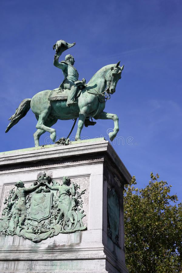 ii памятник wilhelm стоковое фото rf