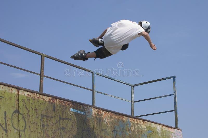 Download II en ligne de patinage image stock. Image du accomplissement - 743269