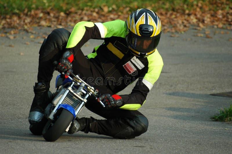 ii minibike赛跑 免版税库存照片