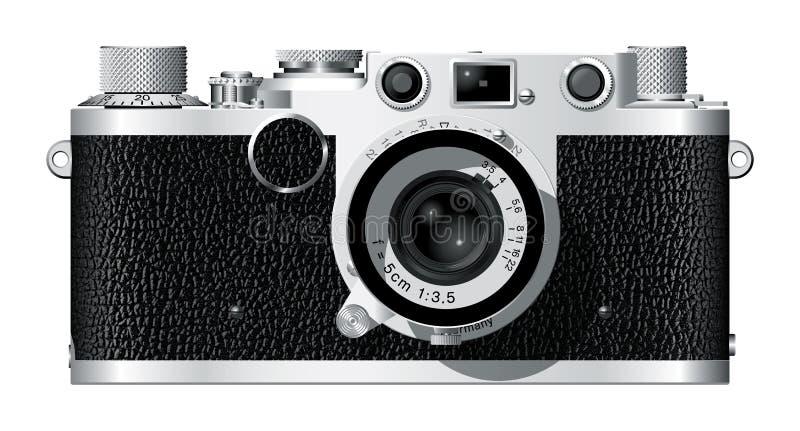ii rangefinder kamery. royalty ilustracja