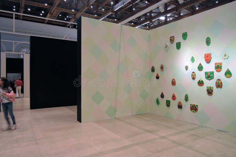 II street art biennale ArtMosSphere in Moscow royalty free stock images