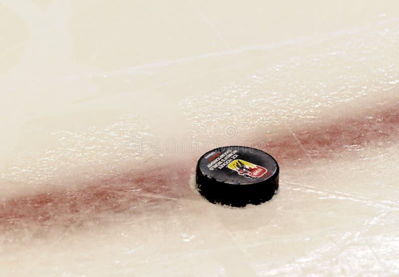 IIHF-kvinnors mästerskap för värld för ishockey - bronsmedaljmatch - Ryssland V Finland arkivbild