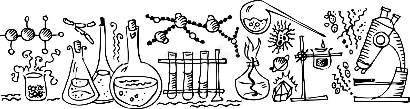 iii lab naukowy ilustracji