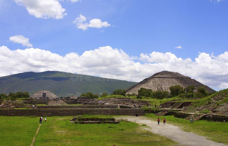 III teotihuacan стоковое изображение rf