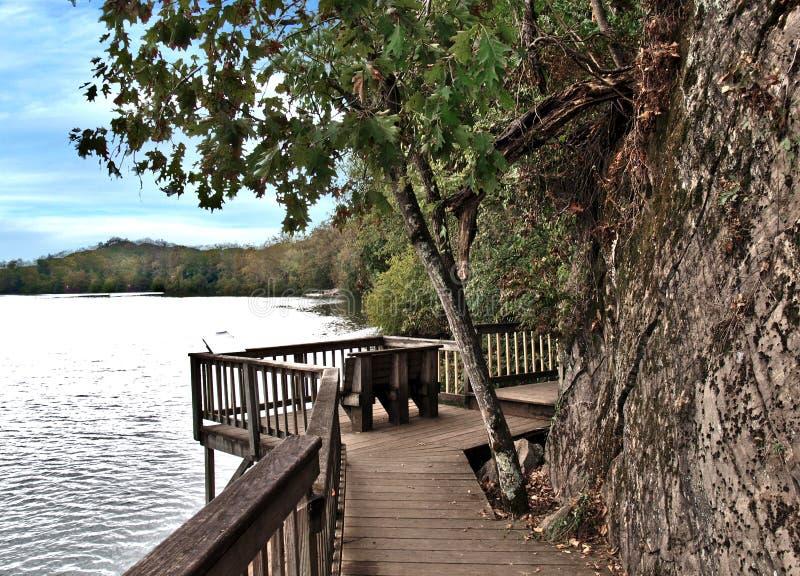 Ijams Nature Center på Tennessee arkivfoton