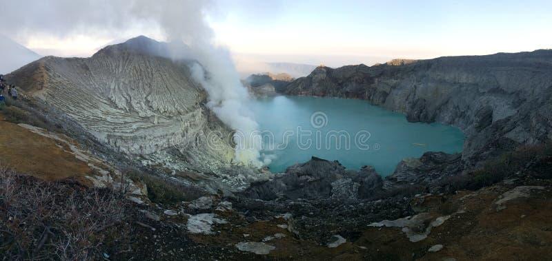 Ijen Mountain -banyuwangi - East Java stock image