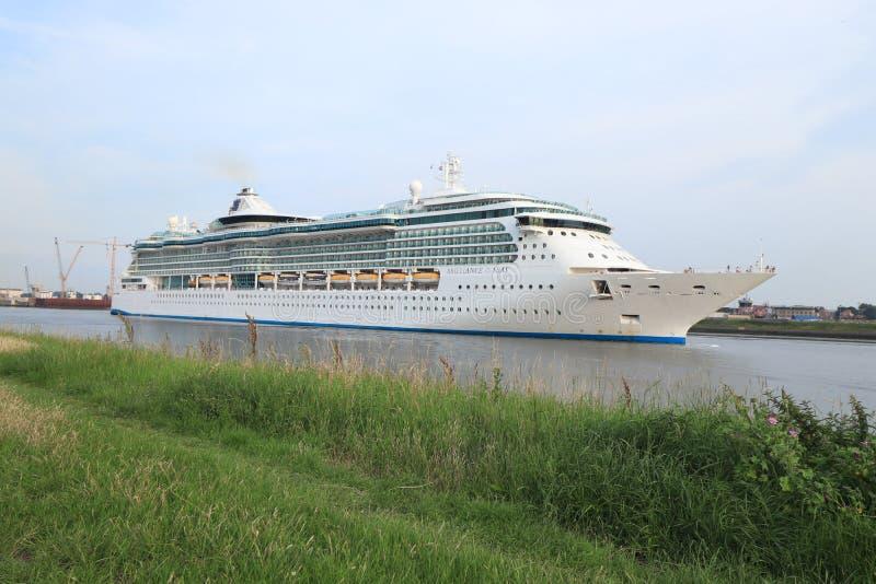 IJmuiden, Nederland - Juni vierentwintigste 2019: Schittering van het Overzees royalty-vrije stock afbeelding