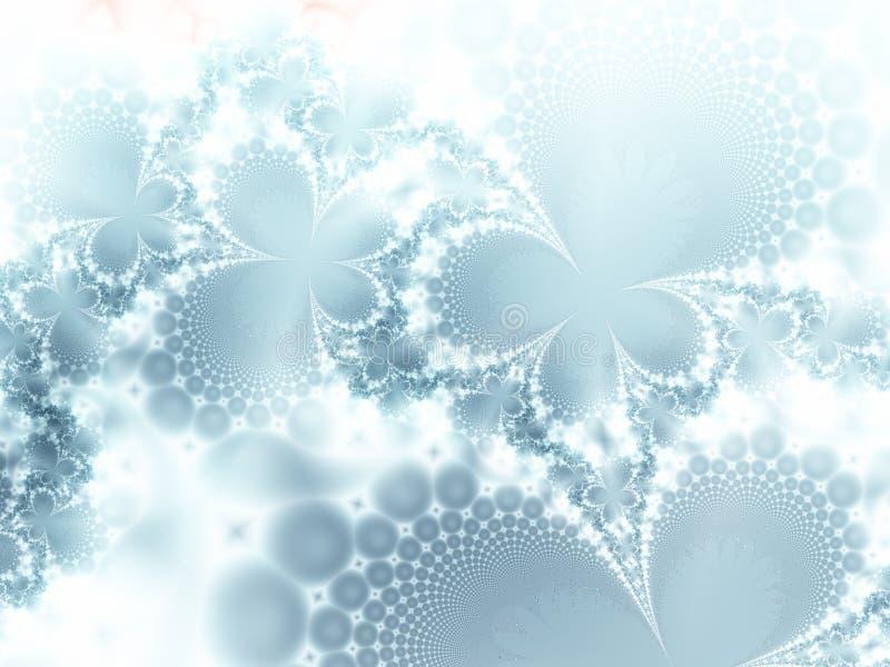 Ijs-bloemen vector illustratie