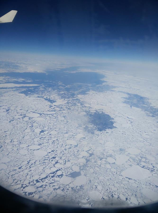 ijsberg stock afbeelding
