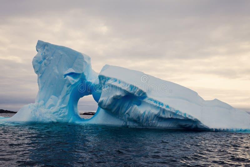 Ijsberg - Antarctica stock foto