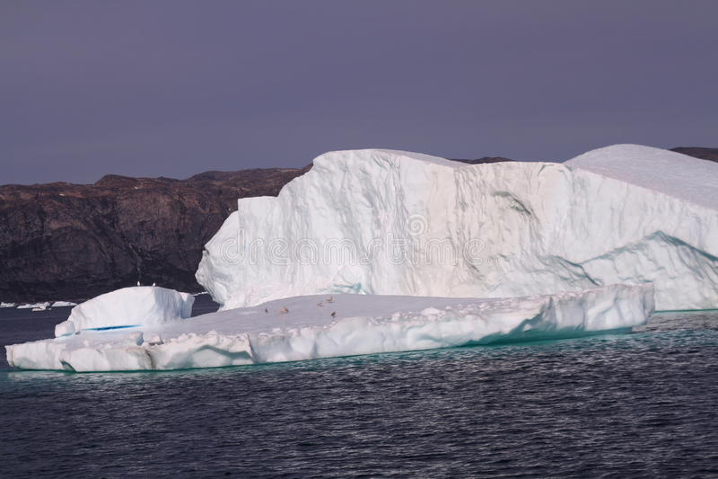 Ijsberg Groenland stock afbeeldingen