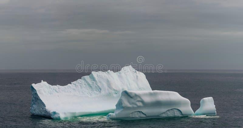 Ijsberg van de kust van Newfoundland royalty-vrije stock foto