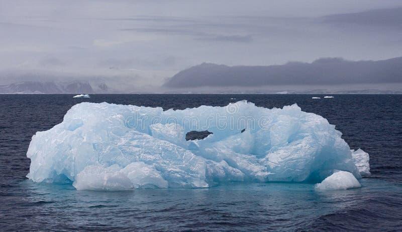 IJsberg Wedellzee Antarctique, mer Antarctique de Wedell d'iceberg images stock