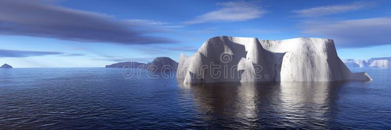 Ijsbergen royalty-vrije stock foto