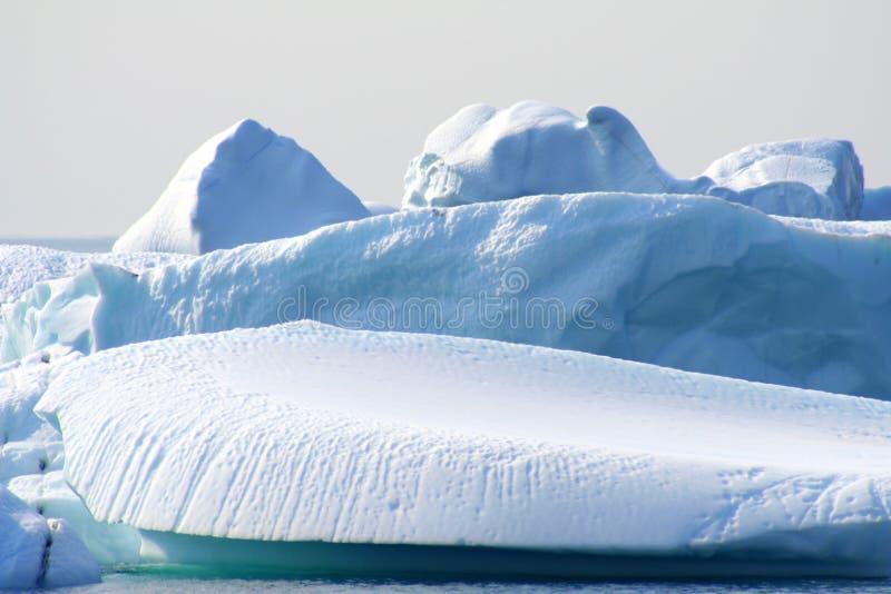 Ijsbergen royalty-vrije stock foto's
