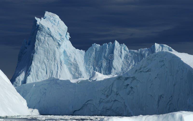 Ijsbergen in Groenland 24 royalty-vrije stock foto's