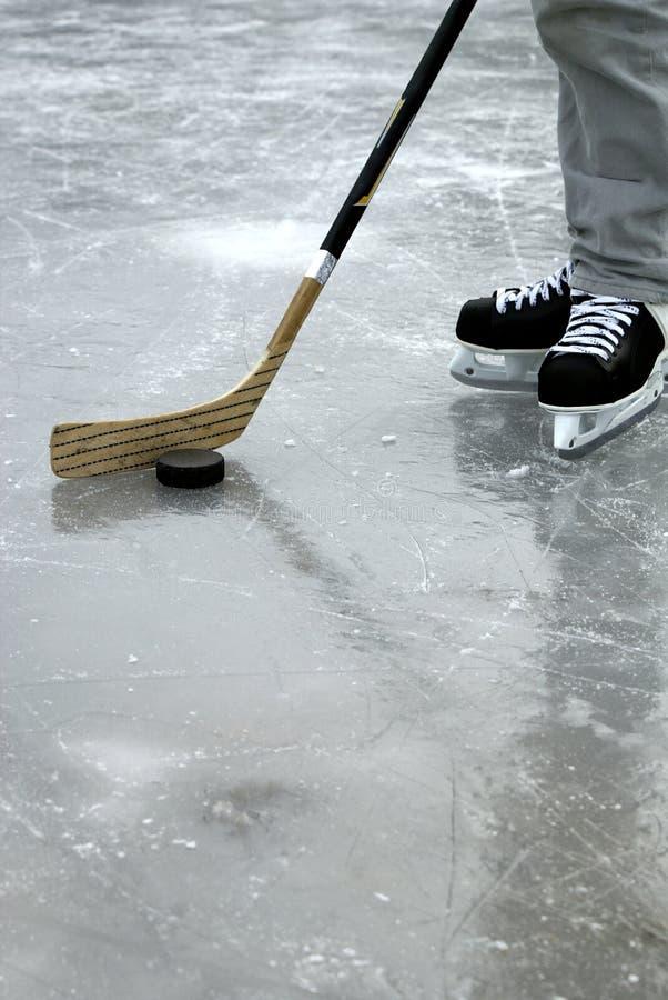 Ijshockey royalty-vrije stock foto
