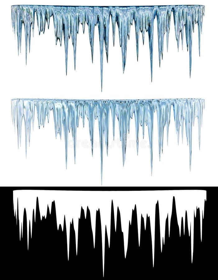 Ijskegels vector illustratie