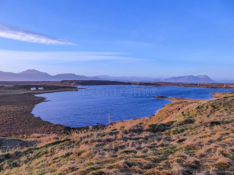 IJsland - Fjordmening royalty-vrije stock foto's