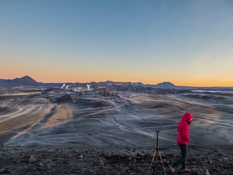 IJsland - Geothermische energie royalty-vrije stock afbeeldingen