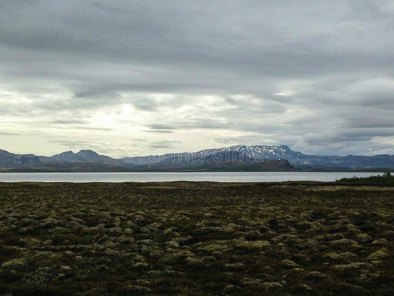 ijsland landschappen stock afbeeldingen