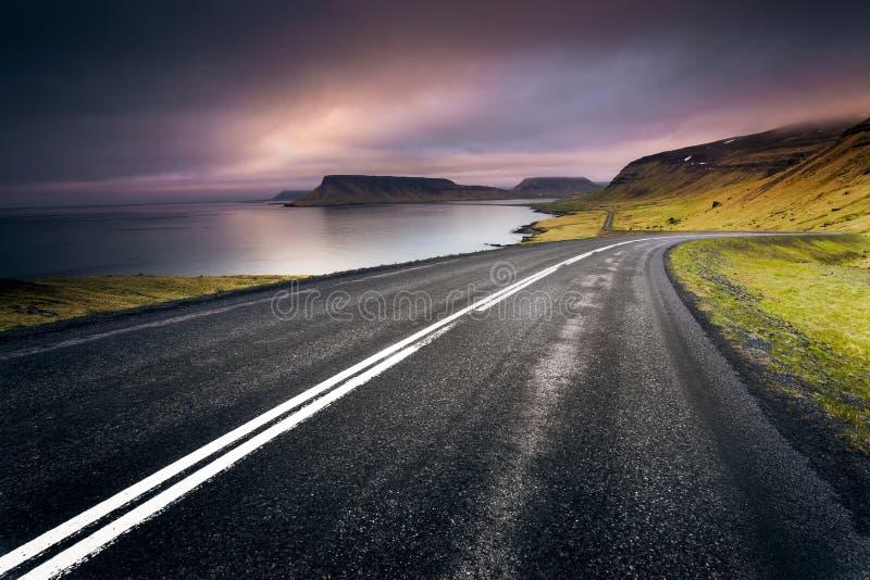 IJsland roard royalty-vrije stock foto