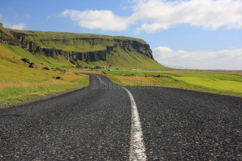 Ijslands landschap royalty-vrije stock fotografie