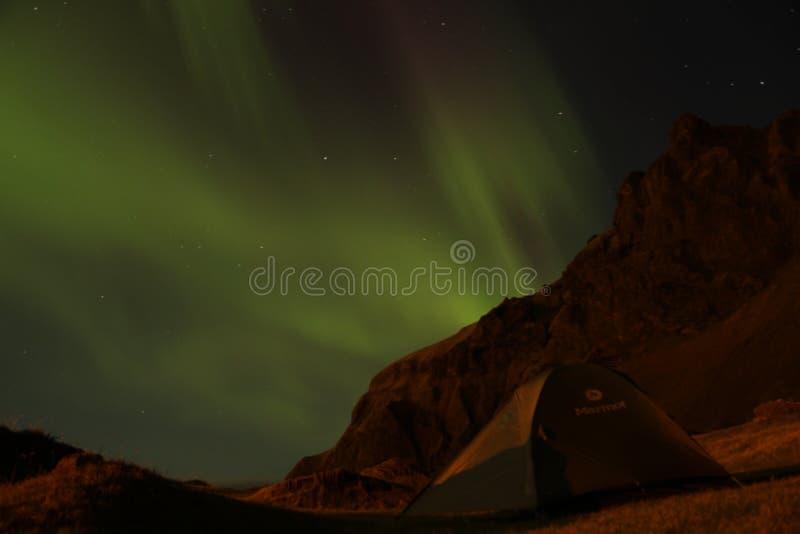 Ijslandse Noordelijke Lichten royalty-vrije stock fotografie