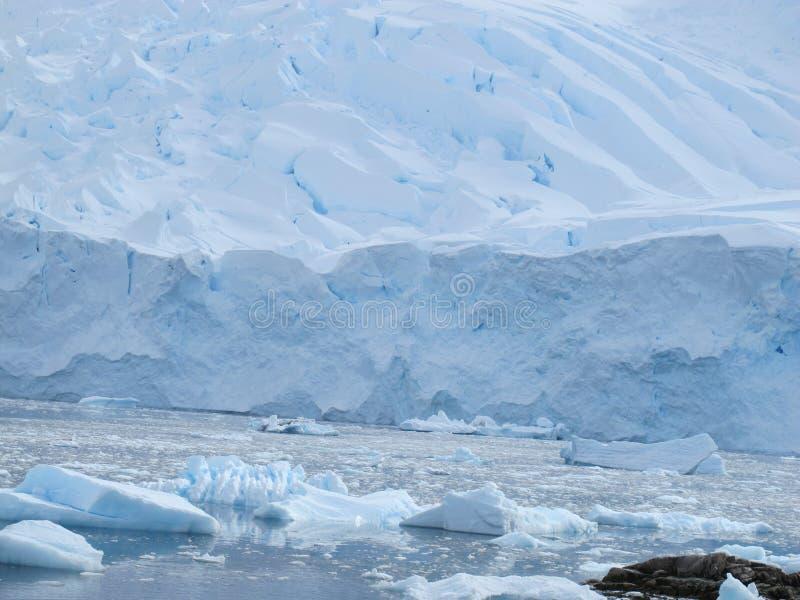 Ijsplank in Antarctica stock fotografie