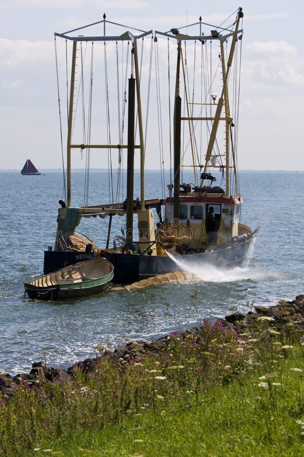 IJsselmeer Nederland, IJsselmeer Нидерланды стоковая фотография rf