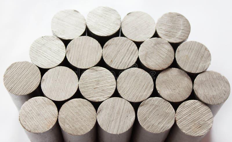 Ijzer of staal royalty-vrije stock afbeelding