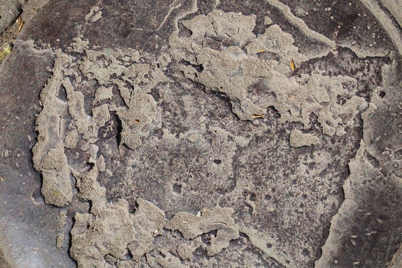 Ijzerbroedsel Ongelijk ijzer Metaal achtergrond stock fotografie
