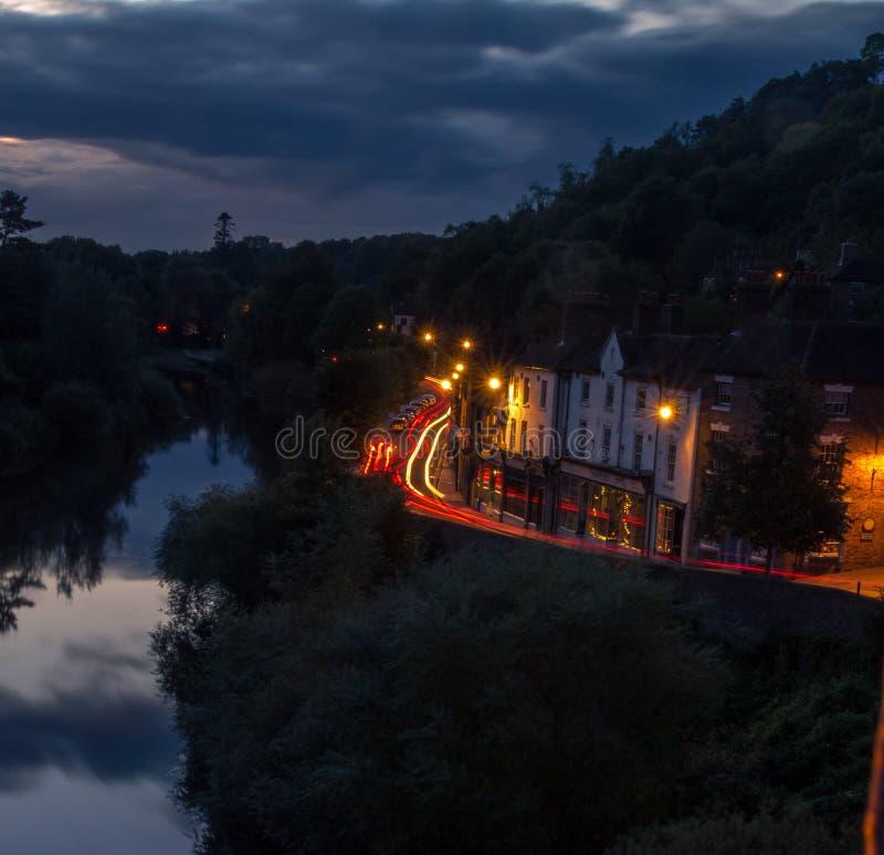 Ijzerbrug Shropshire royalty-vrije stock afbeeldingen