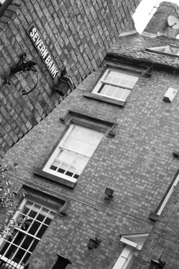 Ijzerbrug, Shropshire, Engeland het UK stock afbeeldingen