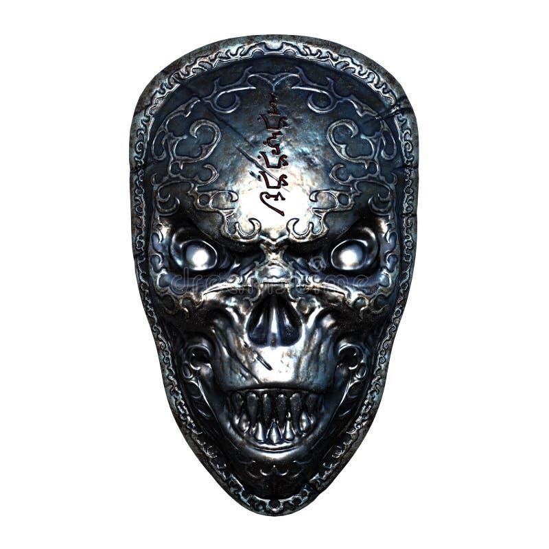 Ijzermasker royalty-vrije stock foto