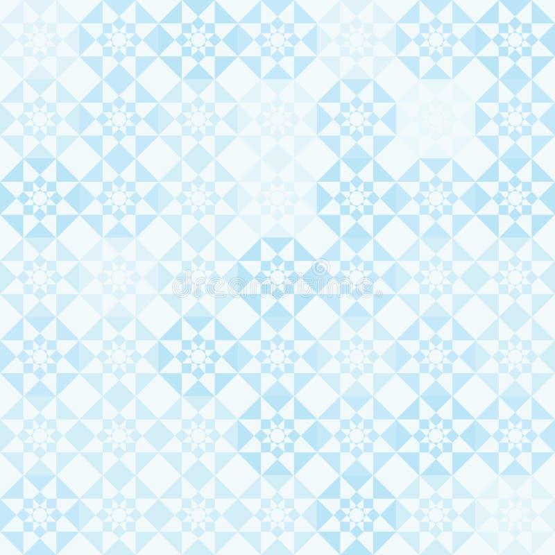 Ijzig patroon royalty-vrije illustratie