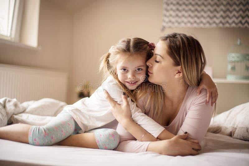 Ik ben de liefde van het Mamma stock foto