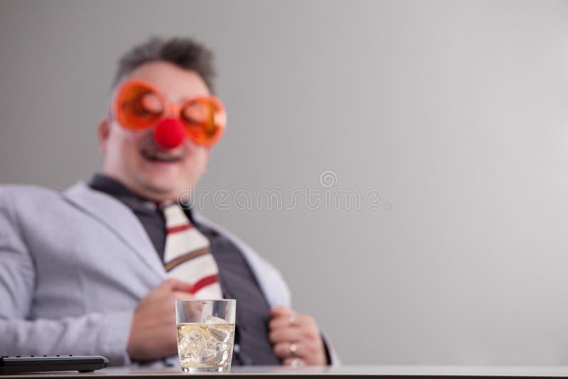 Ik ben niet absoluut dronken op de baan stock foto's