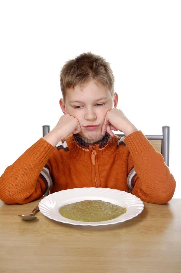 Ik haat groente stock afbeeldingen