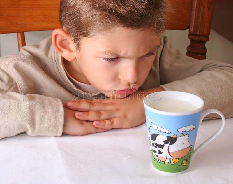 Ik haat melk royalty-vrije stock foto's