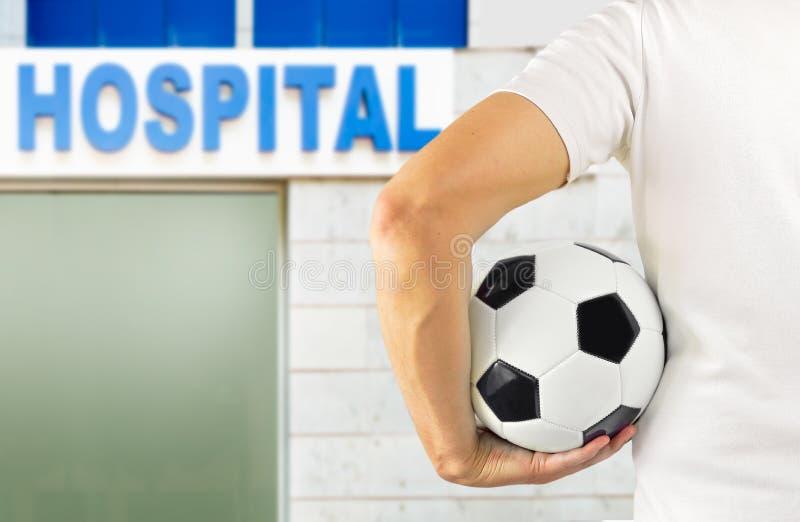 Ik heb het ziekenhuis nodig royalty-vrije stock fotografie