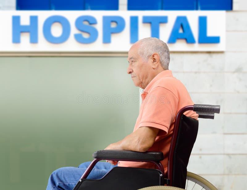 Ik heb het ziekenhuis nodig royalty-vrije stock foto