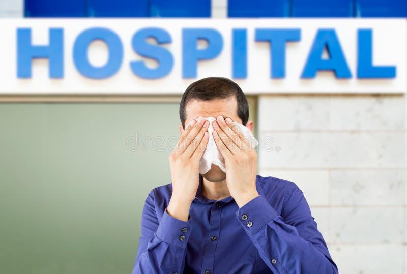 Ik heb het ziekenhuis nodig royalty-vrije stock afbeelding